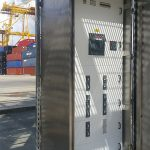 Tableros de potencia y subdistribución para las grúas RTG